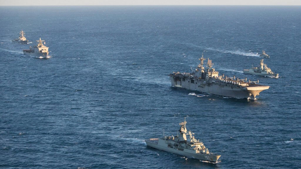 defence ships