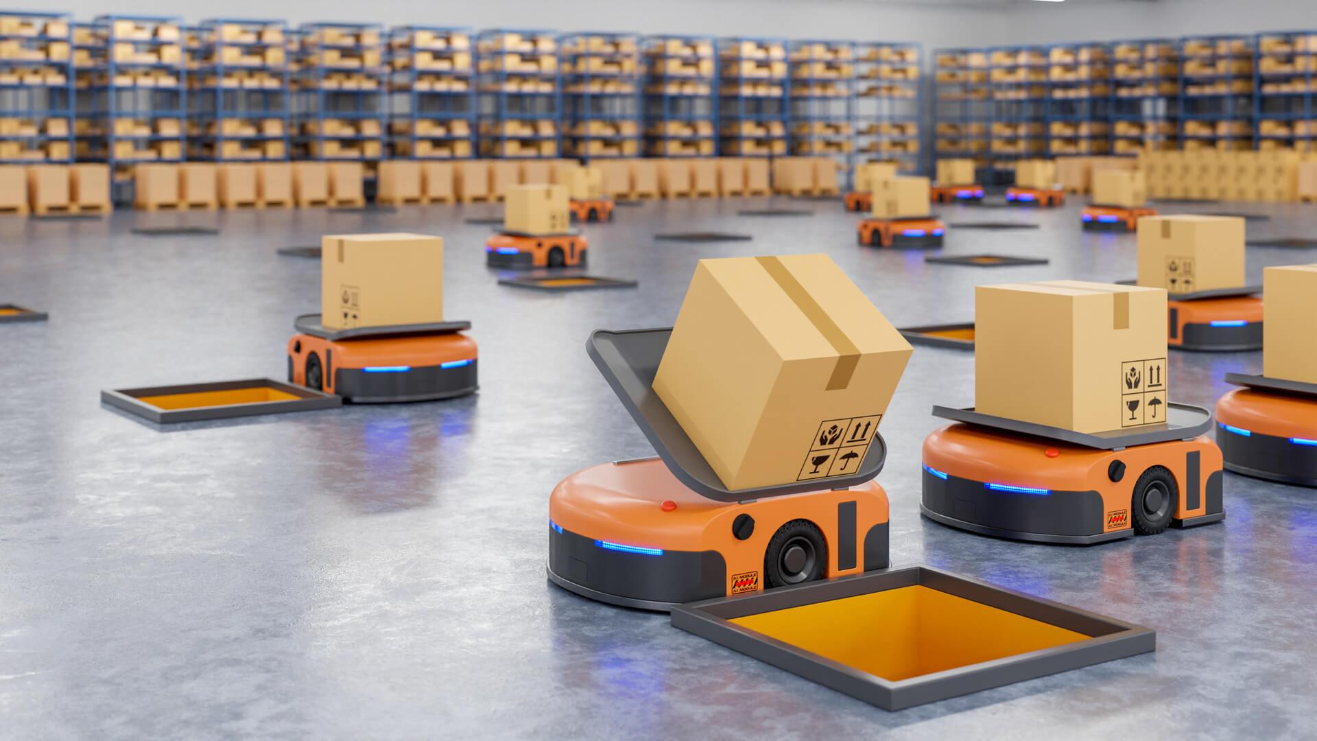 parcel robot